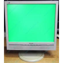 """Б/У монитор 17"""" Philips 170B с колонками и USB-хабом в Уфе, белый (Уфа)"""